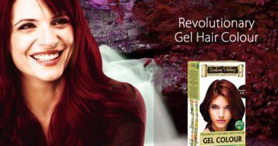 organic certified gel hair colour