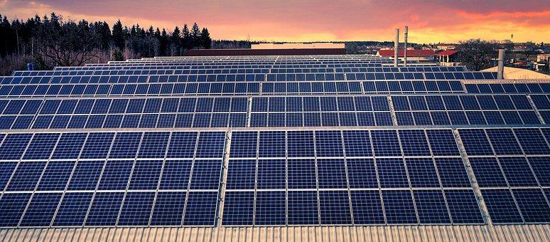 PERC solar panels