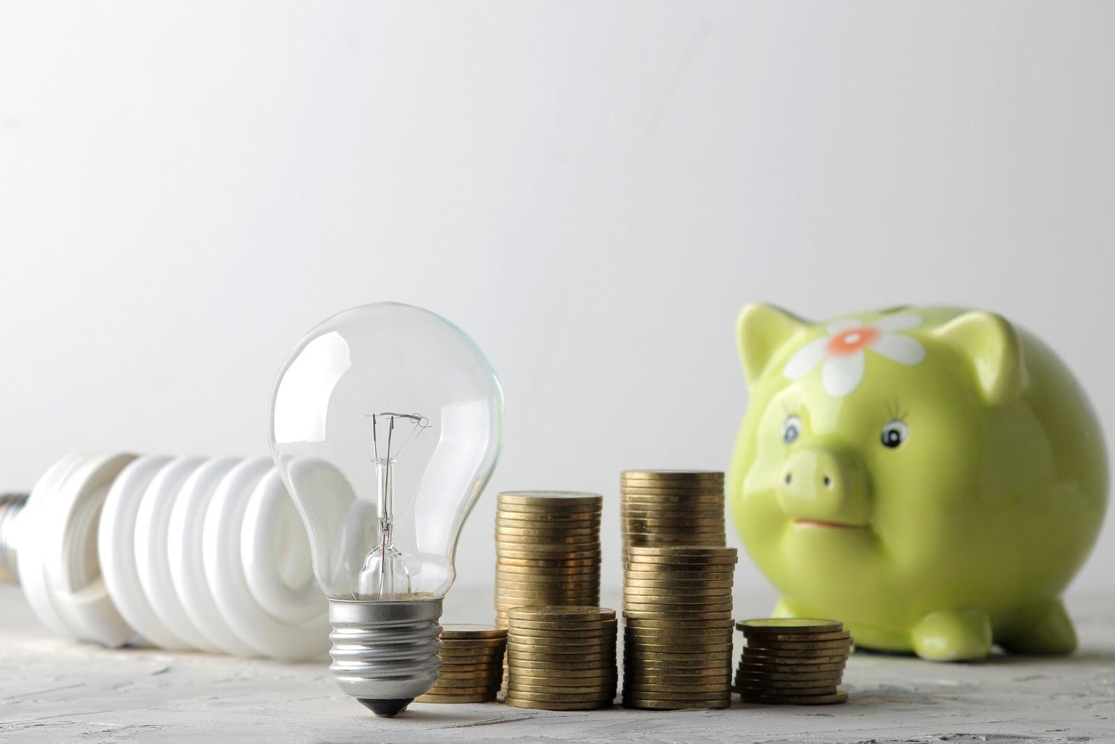 saving money, electricity