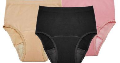 Seamless Reusable Incontinence Panty