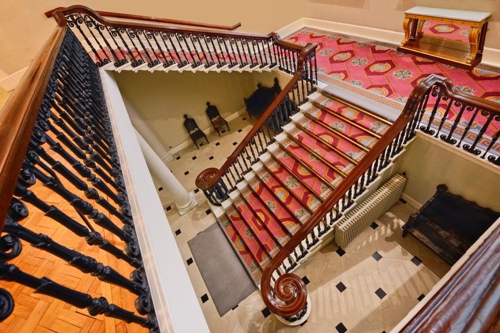 Circular Stair Carpet