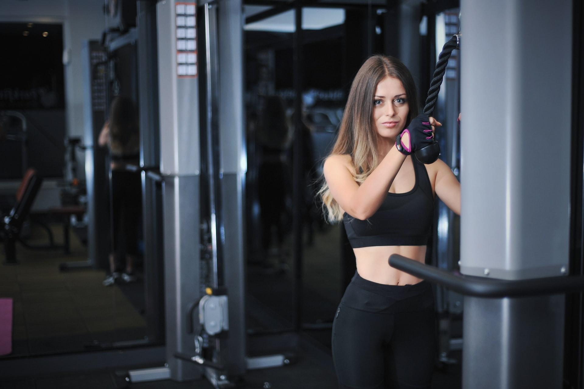girl in gym