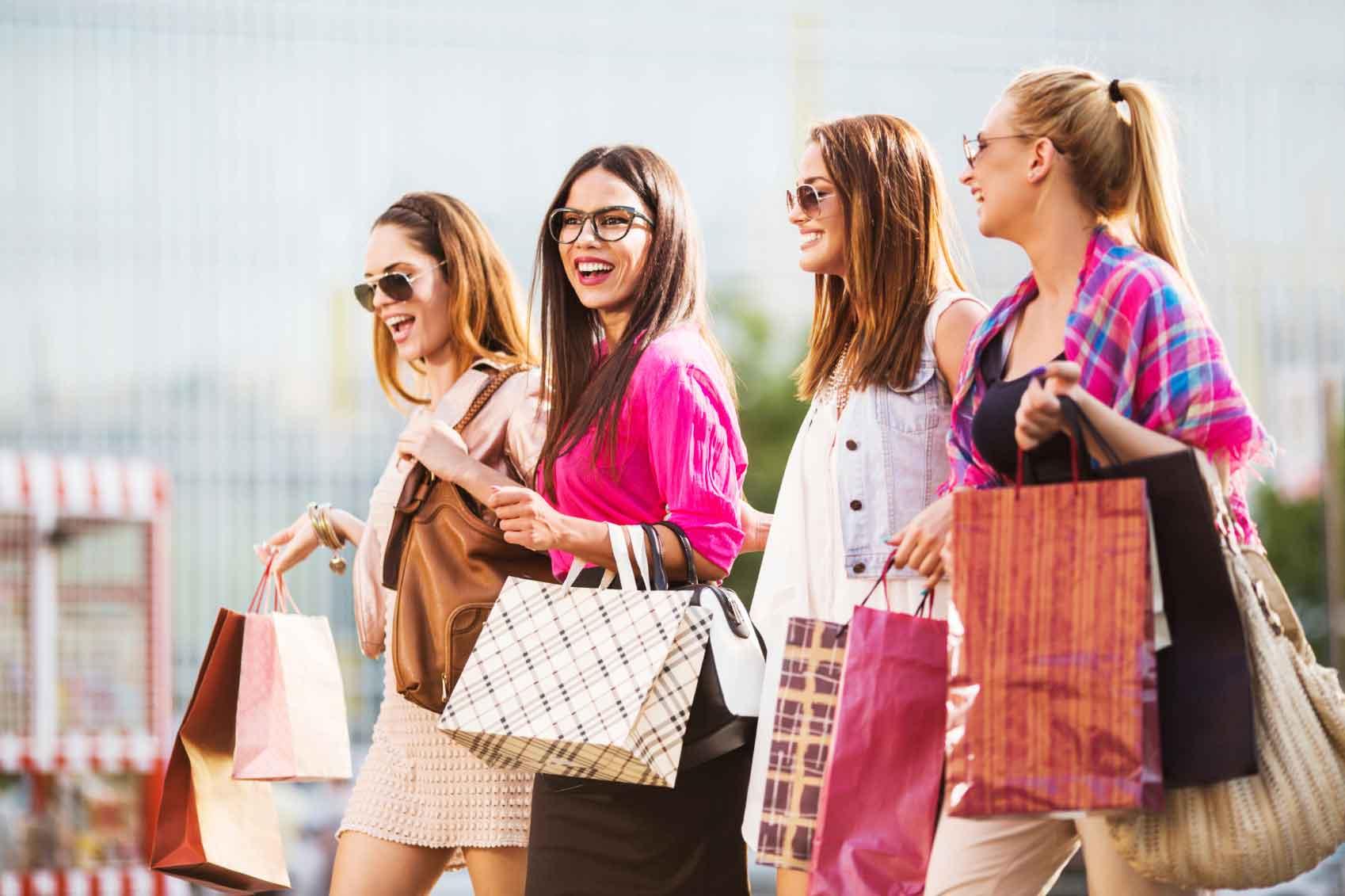 шоппинг картинка стильная нами