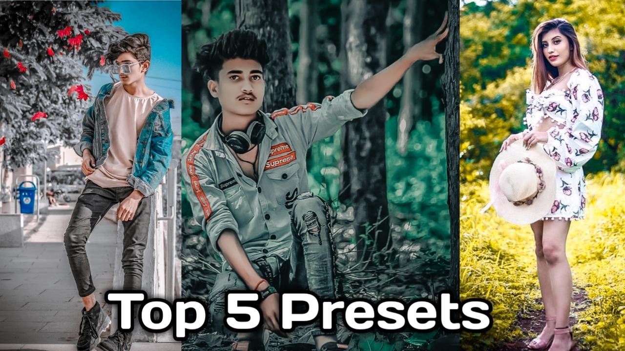 top 3 lightroom presets
