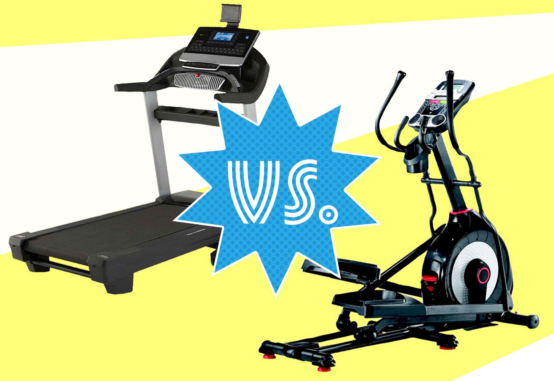 treadmill vs cross trainer