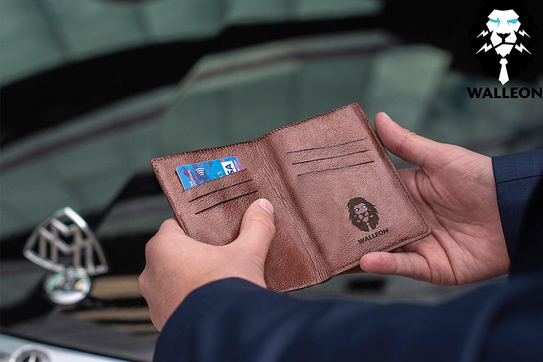 walleon wallet inside