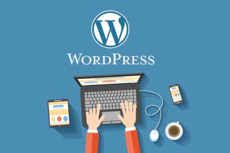 WordPress to create my website